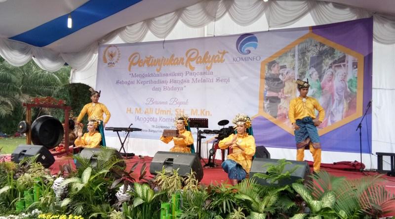 Simbol Kebhinekaan Ketika Reog dan Tari Melayu dalam Satu Panggung