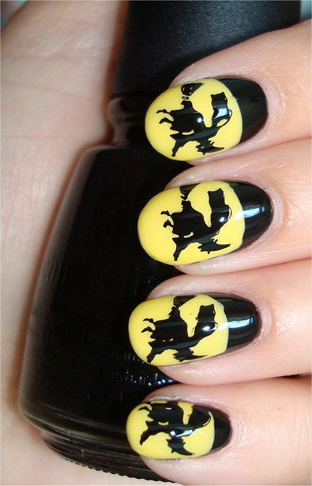 Witch Nails Nail Art Tutorial Swatches