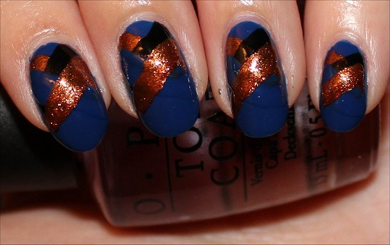 Fishtail Braid Nails Nail Art Tutorial Step 6