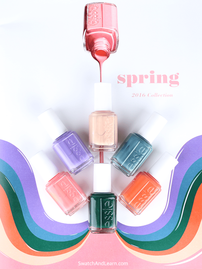 Essie Nail Polish Spring 2016 Collection Mini 4pk Kit 4 X 0 16oz