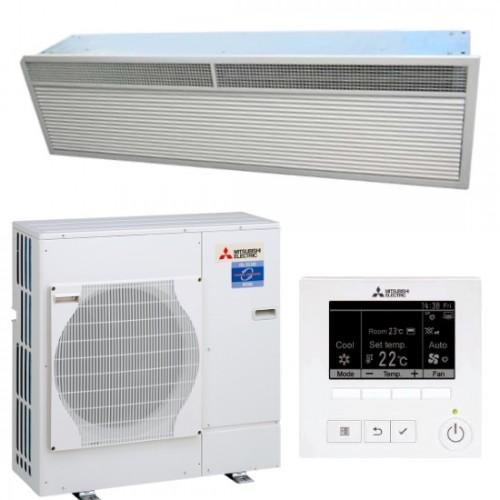 mitsubishi recessed air curtain heat pump hp1000r dxe