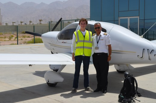 With Our Flight Instructor
