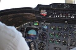 This is one old cockpit