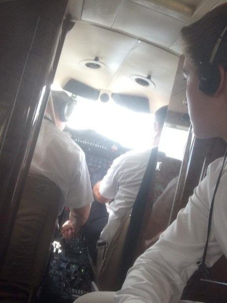 My Jumpseat View