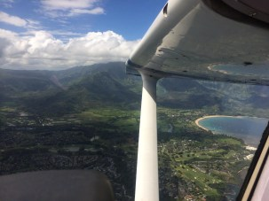 Leaving Na Pali Behind