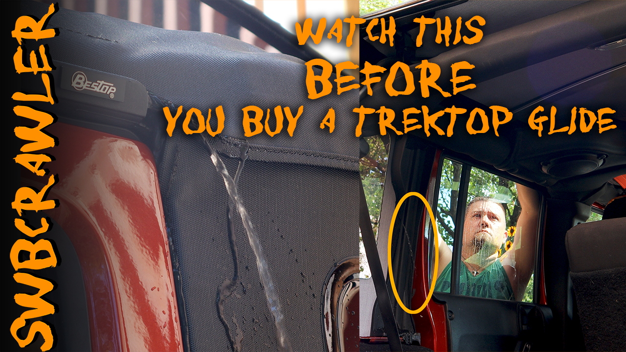 watch this video before buying a bestop trektop glide