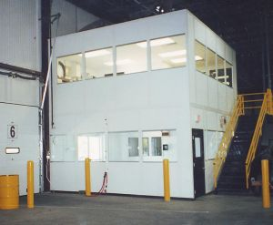 Mezzanine Level Modular Office