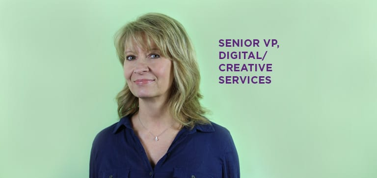 Donna Sinko, senior vice president of digital and creative services at SWBR, an agency headquartered in Lehigh Valley, Pa.