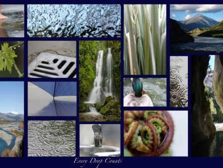 Water as art! World Water Day 2016