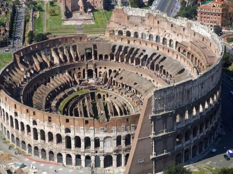 Colosseum drone