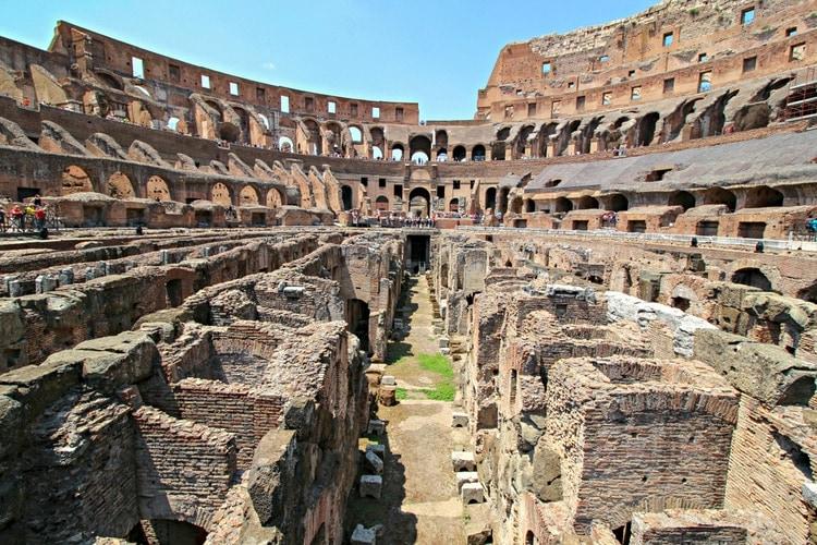 Colosseum inuti