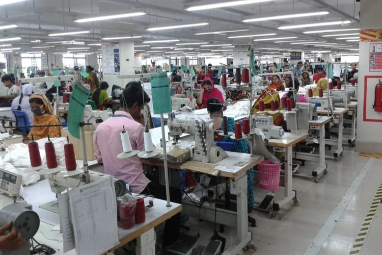 Bangladeshi clothing factory