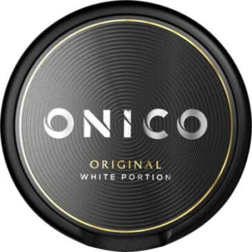 Onico white portion snus