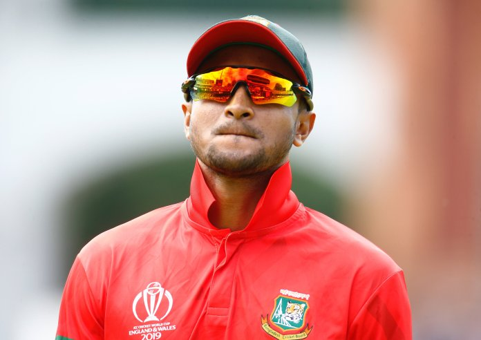 Shakib Al Hasan banned from cricket