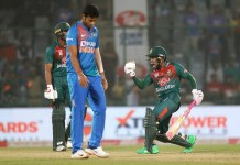 Bangladesh wins against India at Delhi
