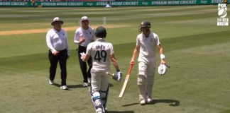 Steve Smith engaged in heated in an argument with umpire