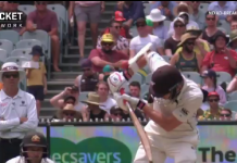 Aleem Dar makes a questionable decision as the third umpire in the boxing day test