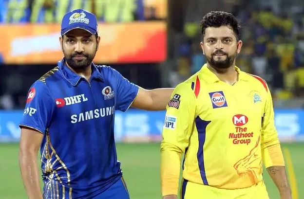 rohit sharma and suresh raina ipl