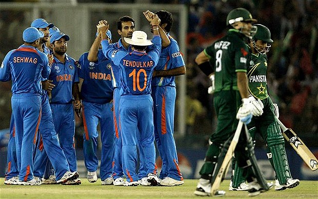 India vs Pakistan in 2011 World Cup at Mohali