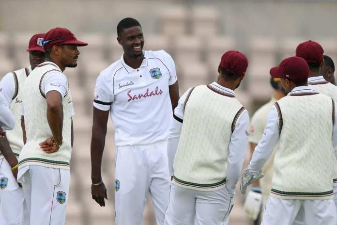 West Indies team vs England in the first test match at Southampton