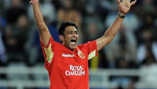 Anil Kumble took 5 wickets for just 5 runs against Rajasthan Royals in IPL 2009, anil kumble 5/5 ipl, anil kumble 5 wickets in ipl, anil kumble 5/5, anil kumble 5/5 video