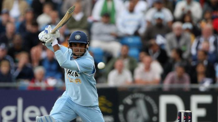 Sourav Ganguly off drive shot, Sourav Ganguly, trademark shots of indian cricketers