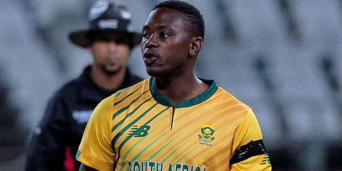 Kagiso Rabada in england vs south africa t20i series 2020