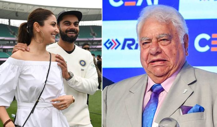 controversial statements from Indian cricketers, cricket controversy, indian cricket controversy, farokh engineer comments on anushka sharma, farokh engineer virat kohli, farokh engineer anushka sharma