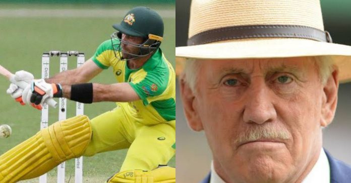 Glenn Maxwell and Ian Chappell, Glenn Maxwell playing switch hit ian chappell