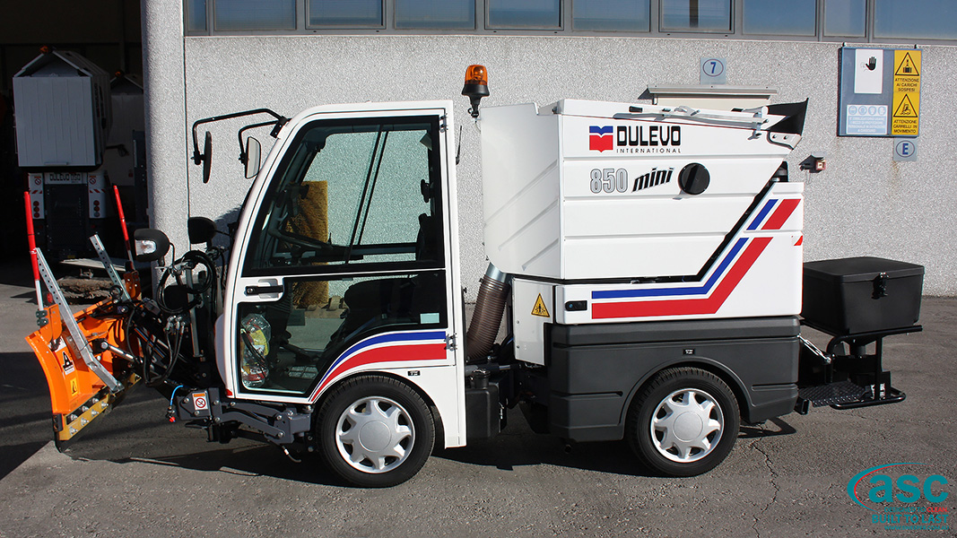 ASC DULEVO 850 sweeper 1