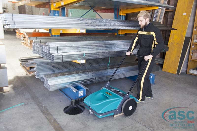 ASC Mep Eureka sweeper with man 3