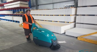 Picton Hopkins adds 2 x Heavy Duty ASC Eureka M1 sweepers for their Morwell and Preston Victoria stores.