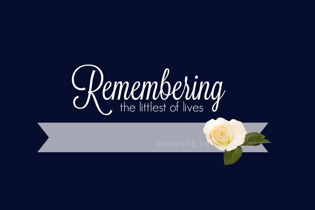 Remembering the littlest of lives