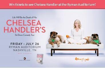 Chelsea Handler Online Sweepstakes