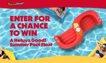 Heluva Good Pool Float Sweepstakes
