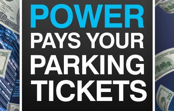 Power Pays Your Parking Tickets Sweepstakes