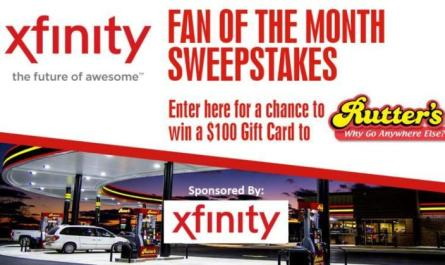 Xfinity Fan Of The Month Sweepstakes