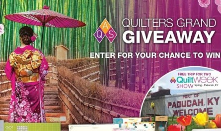AQS Quilters Grand Giveaway