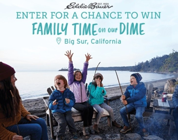 The Eddie Bauer Kids Launch Sweepstakes