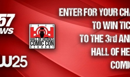 Elkhart Hall of Heroes Comic Con Giveaway