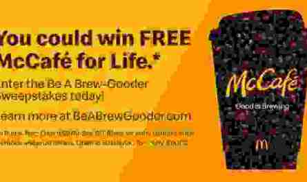 McDonald's McCafe Be A Brew-Gooder Sweepstakes