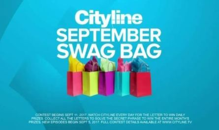 Swag Bag Daily Prizing Contest