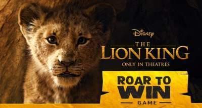 McDonald's The Lion King Sweepstakes