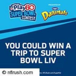 NFL PLAY 60 Super Bowl Contest