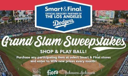 Smart & Final LA Dodgers Grand Slam Sweepstakes