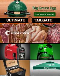 Big Green Egg Tailgate Package Sweepstakes
