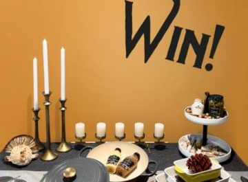 Maille Holiday Table Makeover Sweepstakes