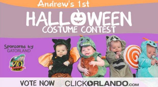 Babys First Halloween Contest
