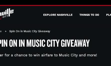 Visit Music City Spin On in Nashville Giveaway
