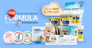 Enfamil Free Formula for a Year Sweepstakes